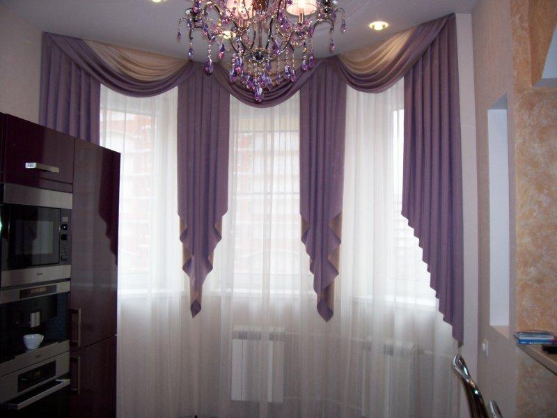 Шторы на кухню дизайн и пошив штор